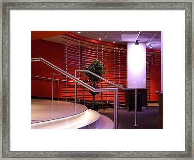Bowling Alley At The Port Authority Framed Print by Susan Alvaro