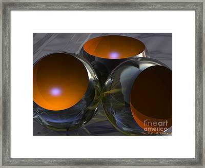 Bowls Framed Print