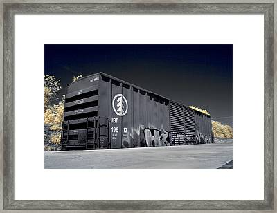 Box Car Framed Print