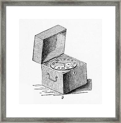Box Chronometer Framed Print by Science Source