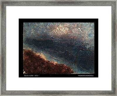 Box-es N.1042 - 2011 Framed Print by Tinamaria Marongiu