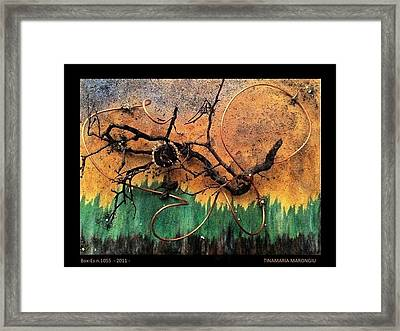 Box-es N.1055 - 2011 Framed Print by Tinamaria Marongiu