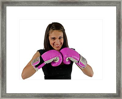 Boxer Framed Print by Jim Boardman