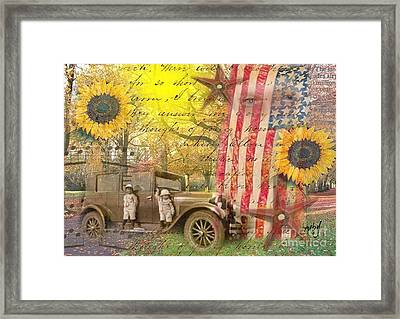 Boys And Their Cars Framed Print