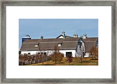Boys Town Farm Framed Print by Edward Peterson