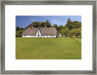 Braderup - Sylt Framed Print by Joana Kruse