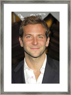 Bradley Cooper At Arrivals For Failure Framed Print by Everett