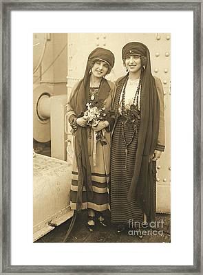 Braggiotti Sisters Framed Print by Padre Art