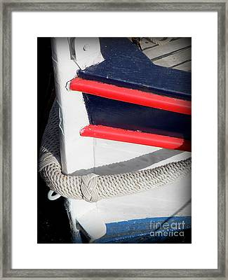 Braided Bumper Framed Print by Lainie Wrightson