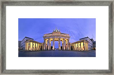 Brandenburger Tor Berlin Framed Print