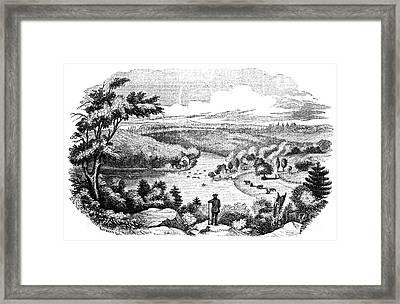 Brandywine Battlefield Framed Print by Granger