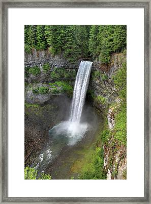 Brandywine Falls Whistler Hdr Framed Print by Pierre Leclerc Photography