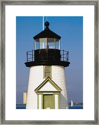 Brant Point Lighthouse Framed Print by Axiom Photographic