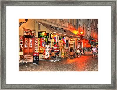 Bratislava Grocery Framed Print by Barry R Jones Jr