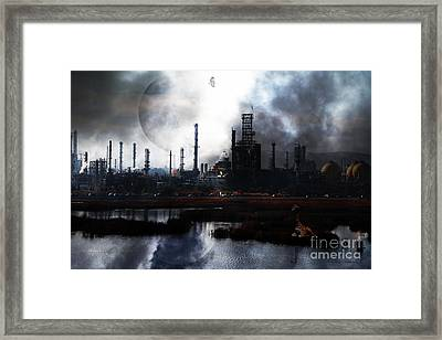 Brave New World - Version 2 - 7d10358 Framed Print by Wingsdomain Art and Photography