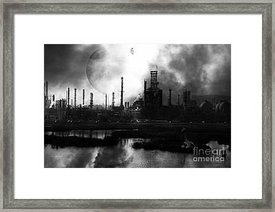 Brave New World - Version 2 - Black And White - 7d10358 Framed Print