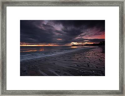 Bray Head From Killiney Beach Framed Print