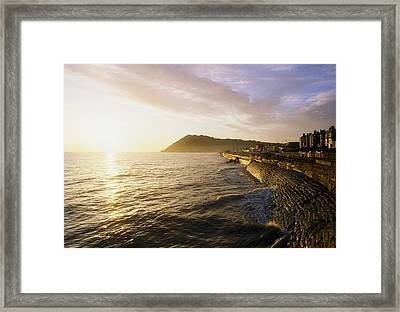 Bray Promenade, Co Wicklow, Ireland Framed Print by The Irish Image Collection