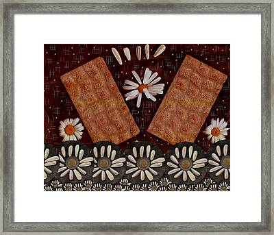Bread And Summer Framed Print
