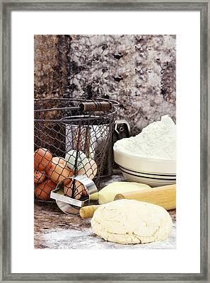 Bread Making Framed Print