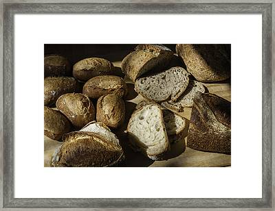 Bread Framed Print by Michael Wessel