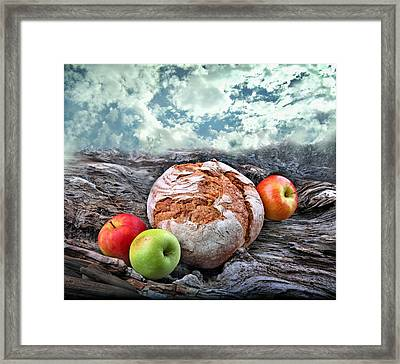 Bread Of The World Framed Print by Manfred Lutzius
