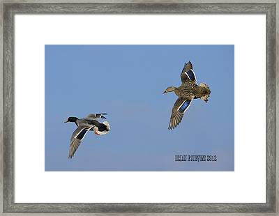 Framed Print featuring the photograph Break Left by Brian Stevens