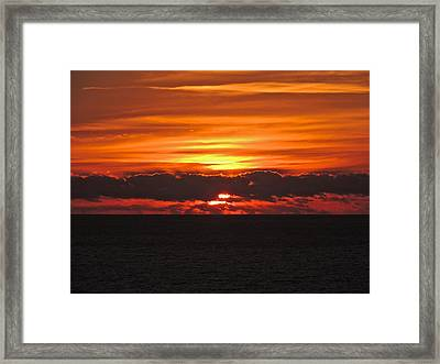 Break Of Dawn Framed Print by Eve Spring