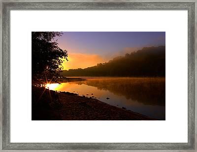 Break Of Dawn Framed Print by Susan Camden