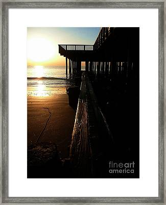 Break Of Day Framed Print by Scott Allison