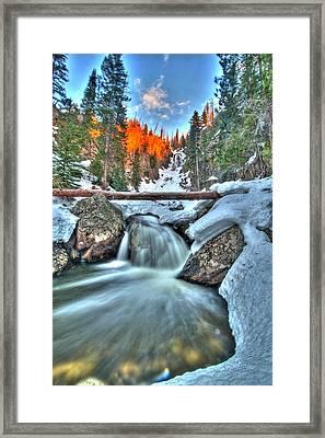 Break On Through Framed Print by Scott Mahon