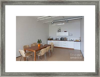 Break Room Framed Print by Jaak Nilson
