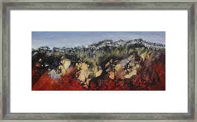 Breakaway Country Framed Print by Paula Wiegmink