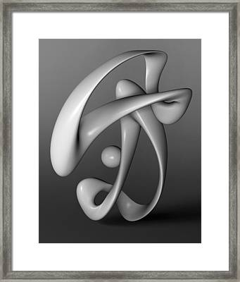Breakdancing Framed Print by Richard Rizzo