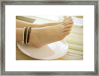 Breakfast At Tiffany's 2 Framed Print by Tos Photos