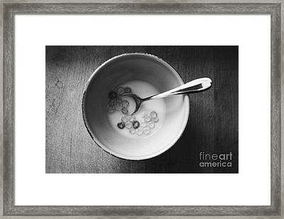 Breakfast Framed Print by Linda Woods