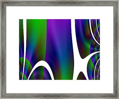 Breakfast With Calder Framed Print by Jeff Iverson