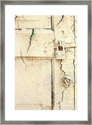 Breaking Denial Framed Print by Joe Jake Pratt