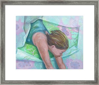 Breaking Free Framed Print by Diane Nelson