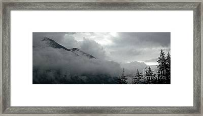 Breaking Sky Framed Print