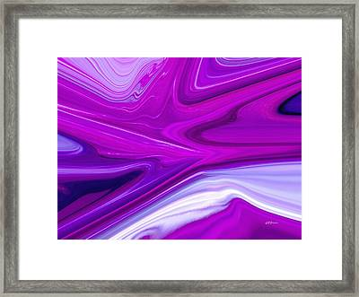 Breaking The Sound Barrier Framed Print