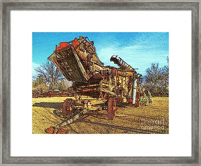Breaking Things Down Framed Print