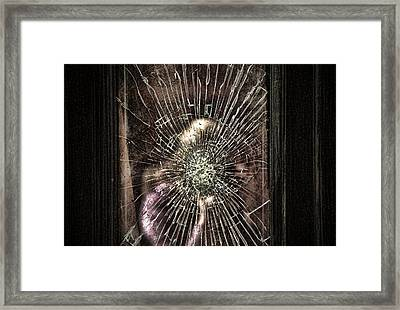 Breaking Through To The Other Side Framed Print by Joanna Madloch