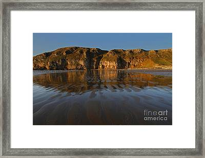 Brean Down Reflection Framed Print by Urban Shooters