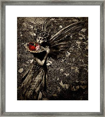 Breath Of Color Framed Print by Chris Berry