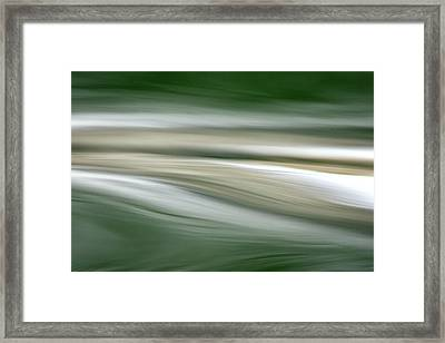 Breath On The Water Framed Print by Cathie Douglas