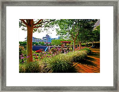Breathing Harmony Framed Print