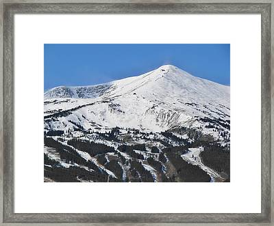 Breckenridge Peak 8 Framed Print