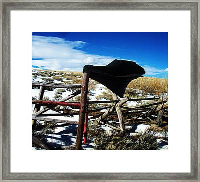 Breezy Day Framed Print by Wesley Hahn