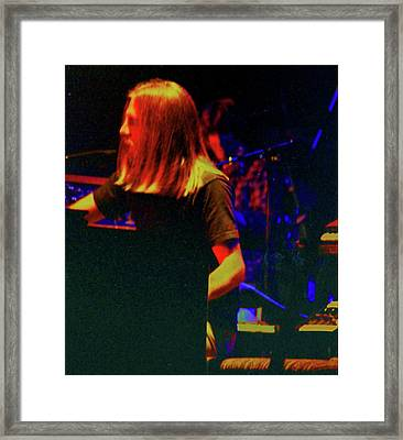 Brent Mydland Framed Print by Susan Carella